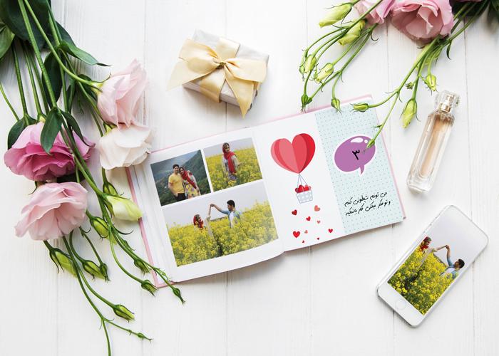 کتاب عکس هدیه از راه دور