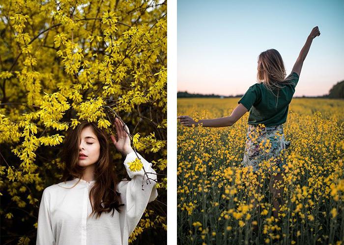 ایده عکاسی برای دخترها