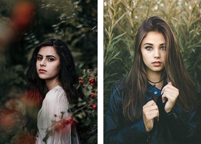 ژست عکس هنری برای دختر ها